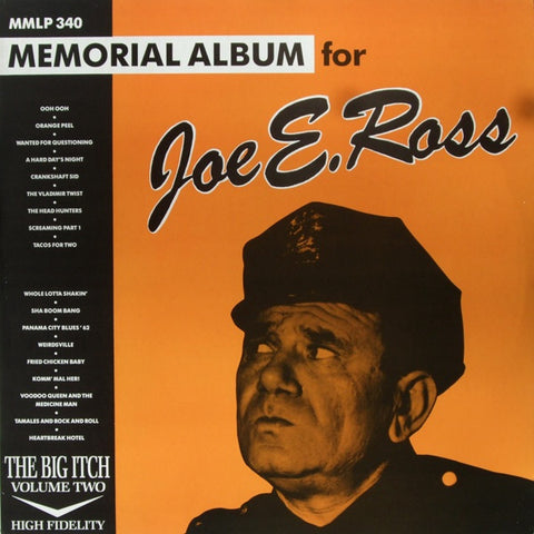 THE BIG ITCH VOL.2 MEMORIAL ALBUM FOR JOE E. ROSS-ARTISTS LP *NEW*