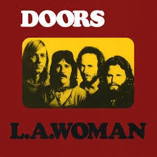 DOORS THE-L.A. WOMAN LP VG COVER VG