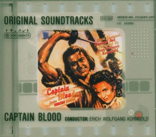CAPTAIN BLOOD-OST ERICH WOLFGANG KORNGOLD CD VG+