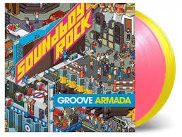 GROOVE ARMADA-SOUNDBOY ROCK PINK/ YELLOW 2LP *NEW*