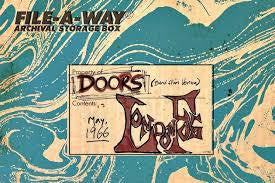"DOORS THE-LONDON FOG 10""+CD BOXSET *NEW*"