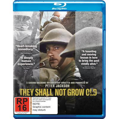 THEY SHALL NOT GROW OLD BLURAY VG+
