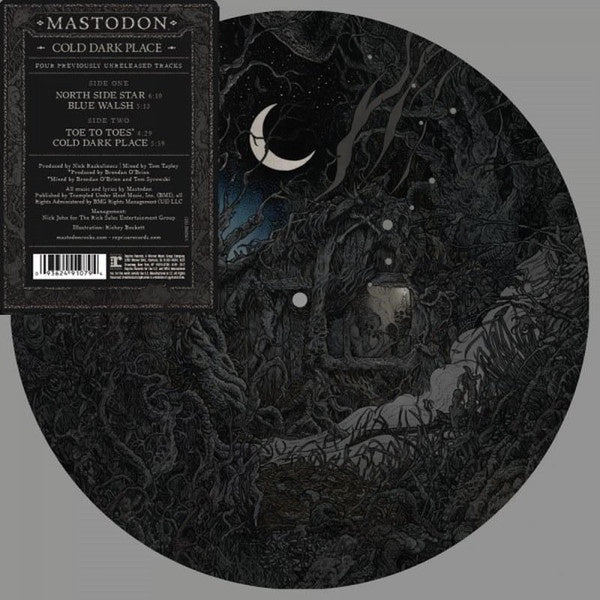 "MASTODON-COLD DARK PLACE 10"" PICTURE DISC LP *NEW*"