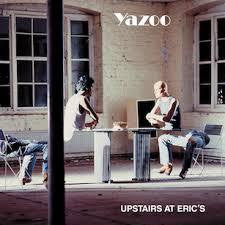 YAZOO-UPSTAIRS AT ERIC'S LP VG COVER VG