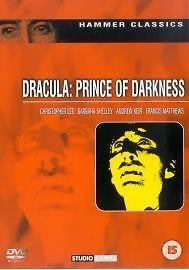 DRACULA: PRINCE OF DARKNESS REGION 2 DVD VG