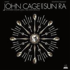 CAGE JOHN & SUN RA-JOHN CAGE MEETS SUN RA THE COMPLETE CONCERT 2LP *NEW*