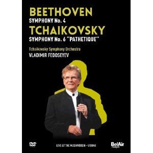 BEETHOVEN TCHAIKOVSKY-SYMPH 4 SYMPH 6 PATHETIQUE DVD *NEW*