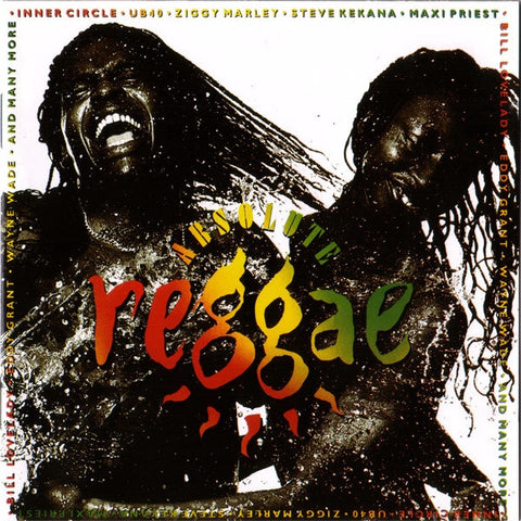 ABSOLUTE REGGAE-VARIOUS ARTISTS CD VG