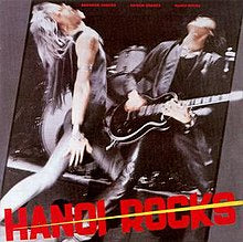 HANOI ROCKS-BANGKOK SHOCKS SAIGON SHAKES HANOI ROCKS LP VG+ COVER VG