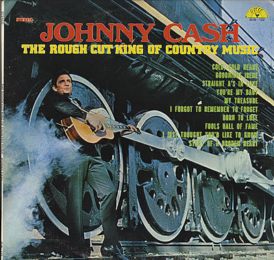 CASH JOHNNY-ROUGH CUT KING OF COUNTRY MUSIC LP *NEW*