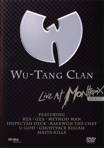 WU-TANG CLAN-LIVE AT MONTREUX 2007 DVD VG