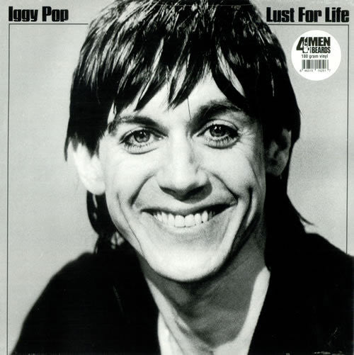 POP IGGY-LUST FOR LIFE LP *NEW*