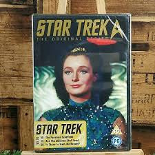 STAR TREK ORIGINAL SERIES DISC 20 EPS. 58,59, 60 DVD NM