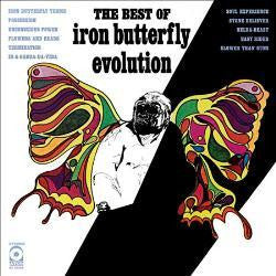 IRON BUTTERFLY-EVOLUTION BEST OF LP VG COVER VG+