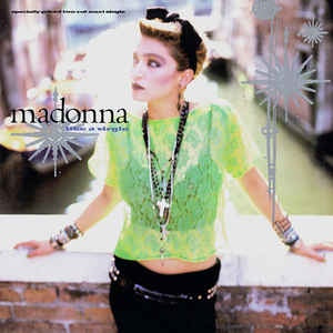 "MADONNA-LIKE A VIRGIN EXTENDED DANCE MIX 12"" VG+ COVER VG+"