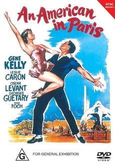 AN AMERICAN IN PARIS DVD VG