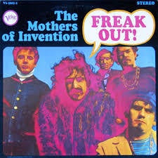 ZAPPA FRANK/ MOTHERS OF INVENTION-FREAK OUT! 2LP VG+ COVER VG+