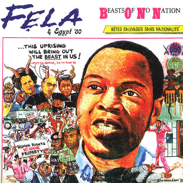 KUTI FELA-BEASTS OF NO NATION LP *NEW*