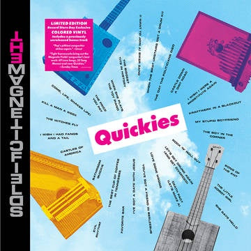 MAGNETIC FIELDS THE-QUICKIES LP *NEW*