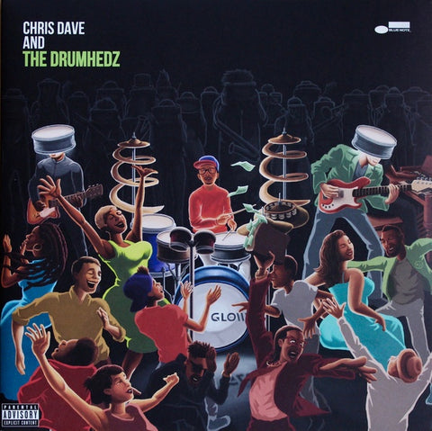DAVE CHRIS & THE DRUMHEADZ-CHRIS DAVE & THE DRUMHEADZ 2LP *NEW*