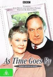 AS TIME GOES BY-SERIES SEVEN AND EIGHT  2DVD VG