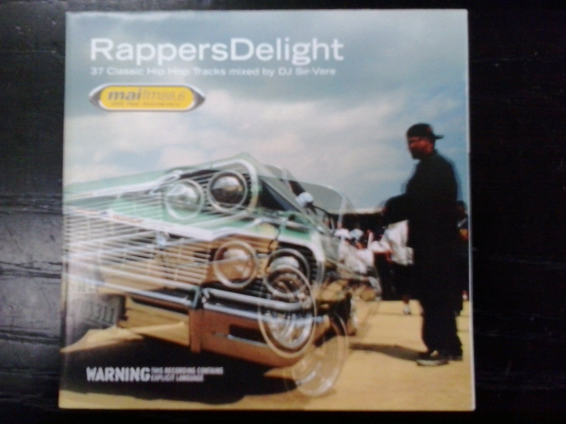 RAPPERS DELIGHT -VARIOUS ARTISTS 2CD G