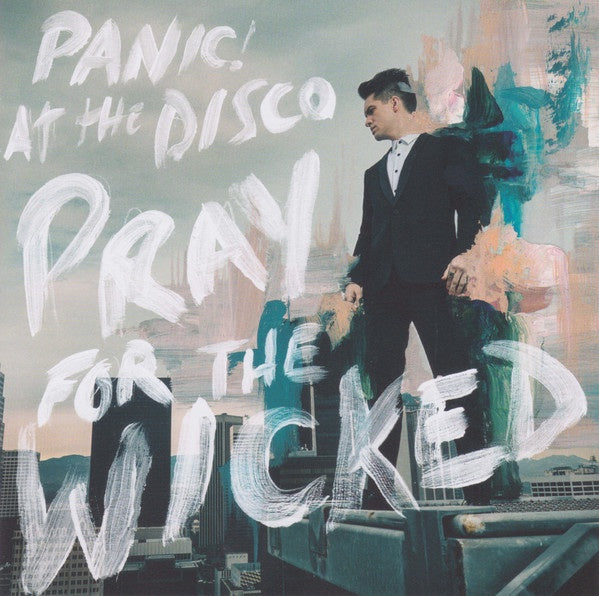 PANIC! AT THE DISCO-PRAY FOR THE WICKED CD VG