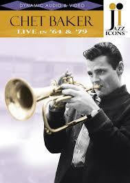 BAKER CHET-LIVE IN '64 & '79 DVD *NEW*