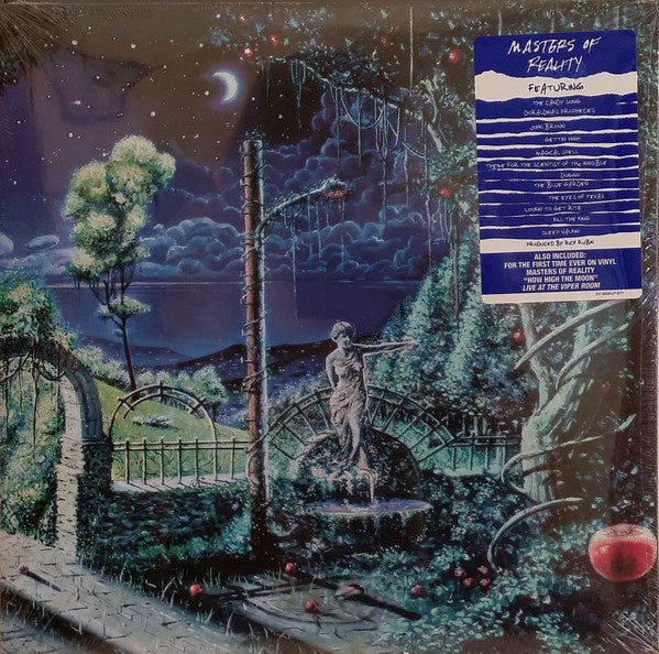 MASTERS OF REALITY-MASTERS OF REALITY BLUE VINYL LP *NEW*