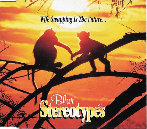 BLUR-STEREOTYPES CD SINGLE VG