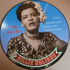 HOLIDAY BILLIE-AS TIME GOES BY PICTURE DISC LP EX