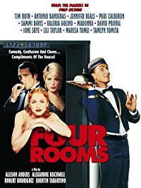 FOUR ROOMS REGION 1 DVD VG