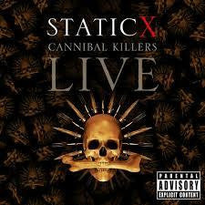 STATIC X-CANNIBAL KILLERS LIVE CD+DVD VG