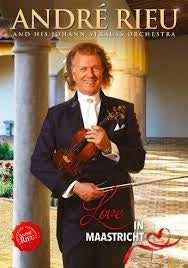 RIEU ANDRE-LOVE IN MAASTRICHT DVD *NEW*