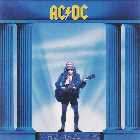 AC/DC-WHO MADE WHO CD VG