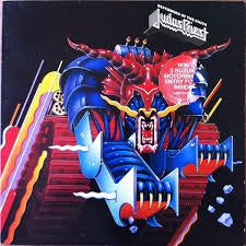 JUDAS PRIEST-DEFENDERS OF THE FAITH LP VG COVER G+