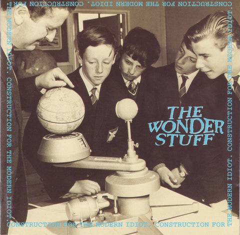 WONDER STUFF THE-CONSTRUCTION FOR THE MODERN IDIOT CD VG