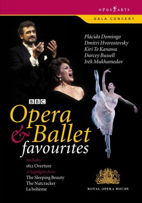 OPERA AND BALLET FAVOURITES DVD *NEW*