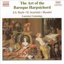 ART OF THE BAROQUE HARPSICHORD-JS BACH SCARLATTI HANDEL CD VG