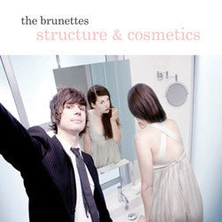 BRUNETTES THE-STRUCTURES & COSMETICS CD VG