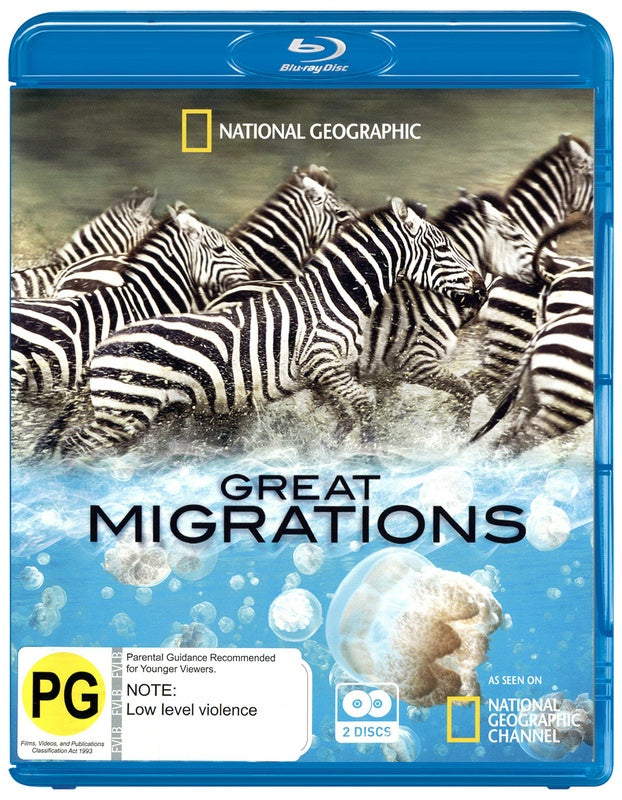 GREAT MIGRATIONS 2BLURAY VG