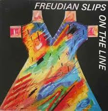 "FREUDIAN SLIPS-ON THE LINE 12"" EP NM COVER VG+"