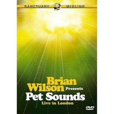 WILSON BRIAN-PET SOUNDS LIVE IN LONDON DVD VG