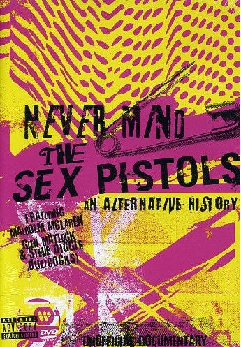 SEX PISTOLS-NEVER MIND THE SEX PISTOLS AN ALTERNATIVE HISTORY DVD VG