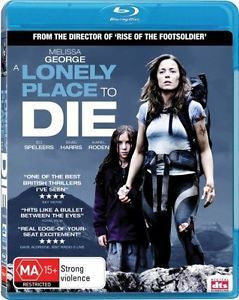 A LONELY PLACE TO DIE BLURAY VG