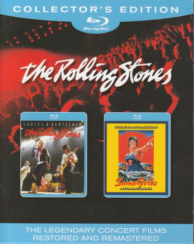 THE ROLLING STONES-LADIES AND GENTLEMEN + SOME GIRLS BLURAY VG