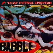 THAT PETROL EMOTION-BABBLE LP NM COVER VG