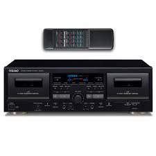 TEAC-W-1200 DOUBLE CASSETTE DECK PLAYER *NEW*