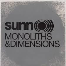 SUNN O))-MONOLITHS & DIMENTIONS 2LP *NEW*