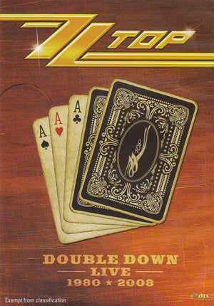 ZZ TOP-DOUBLE DOWN LIVE 1980 2008 2DVD G